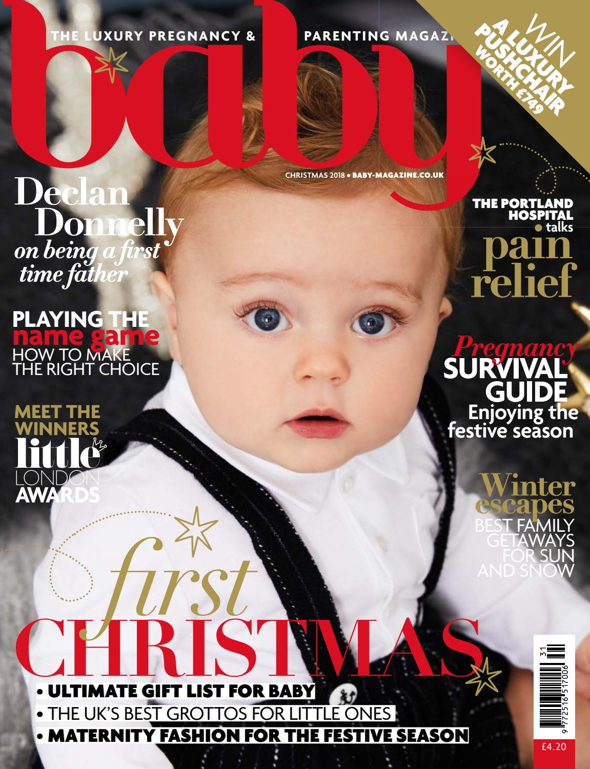 29c3836a1b Baby Christmas 2018 by The Chelsea Magazine Company - issuu