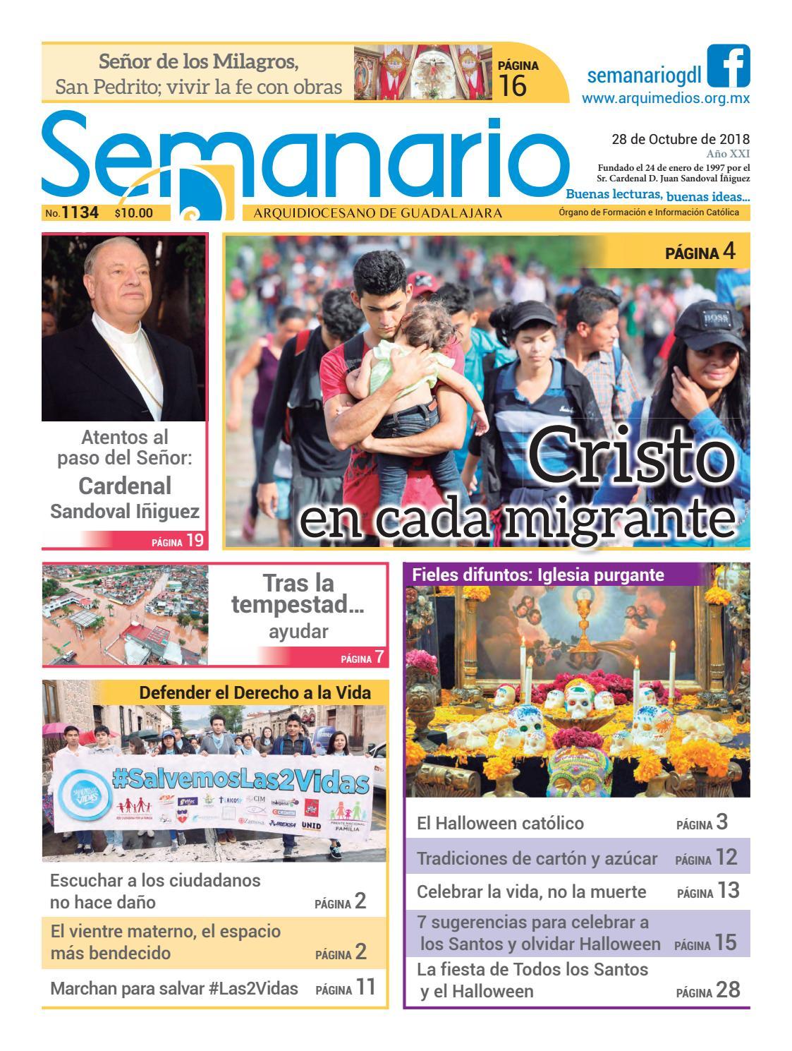 0bf5eabd287 Semanario 1134 by Semanario Arquidiocesano de Guadalajara - issuu