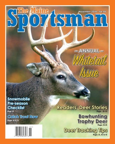 The Maine Sportsman - November 2018 by The Maine Sportsman - Digital ... 288b40b3f430