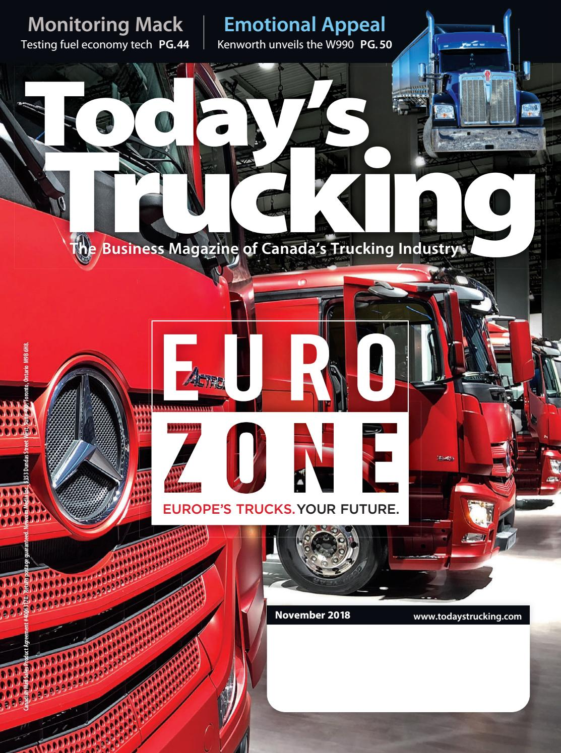 Today's Trucking November 2018 by Annex Business Media - issuu