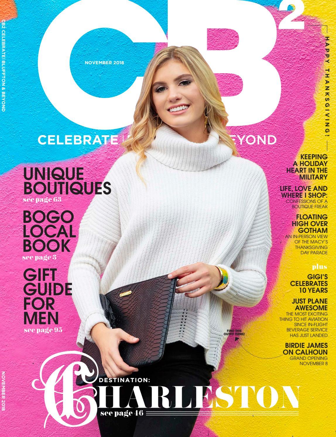 e2883868f28 Celebrate Bluffton   Beyond Magazine and Celebrate Hilton Head - November  2018 Issue by CH2  CB2 - issuu