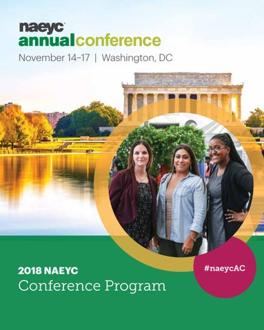 naeyc 2018 annual conference program by naeyc issuu