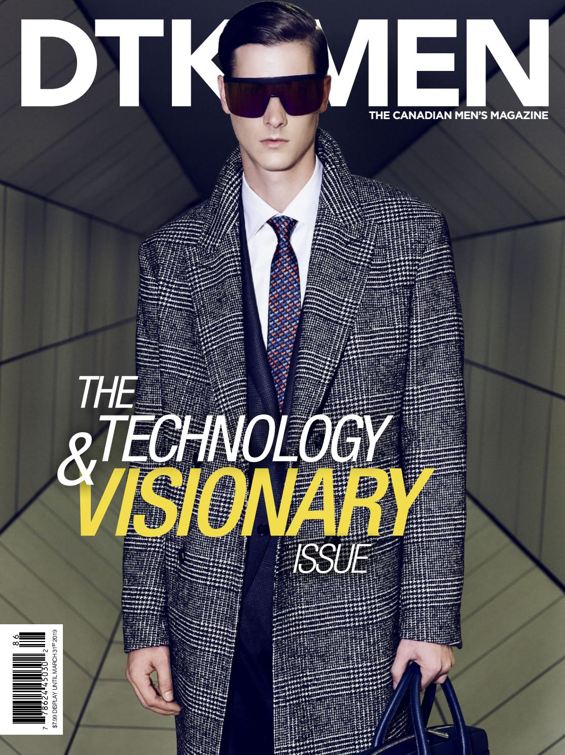 f338a7aabd5f3 DTK Men Technology & Visionary Fall Issue 2018 by Dress to Kill Magazine -  issuu