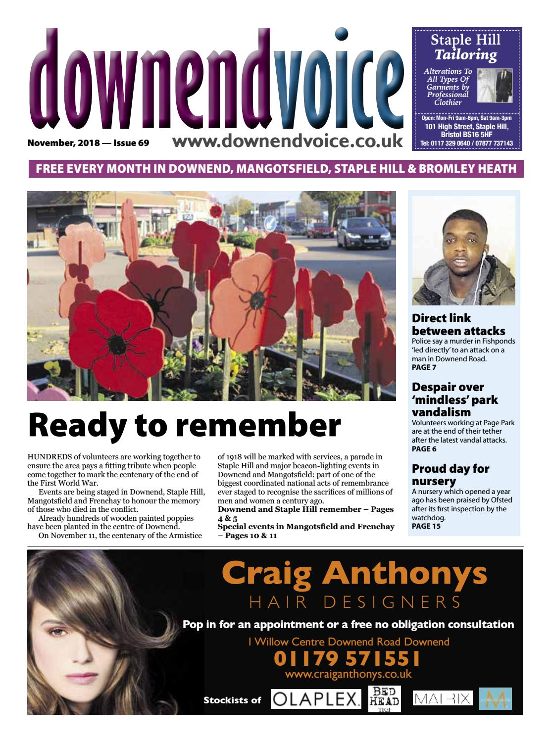 Downend Voice November 2018 by Gary Brindle - issuu