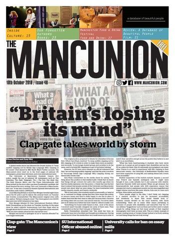Issue 4B by The Mancunion - issuu