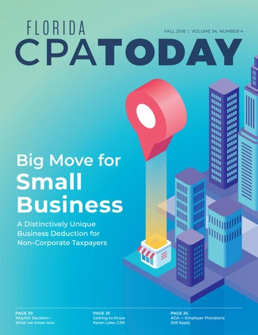 Fall 2018 - Florida CPA Today | Volume 34, Number 4 by Florida