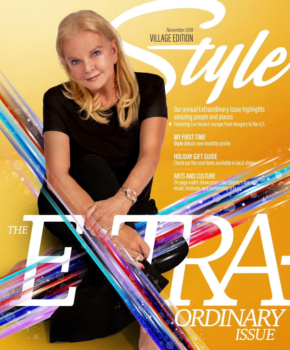 d01b3a65 STYLE Magazine, Village Edition, November 2018 by Akers Media Group - issuu
