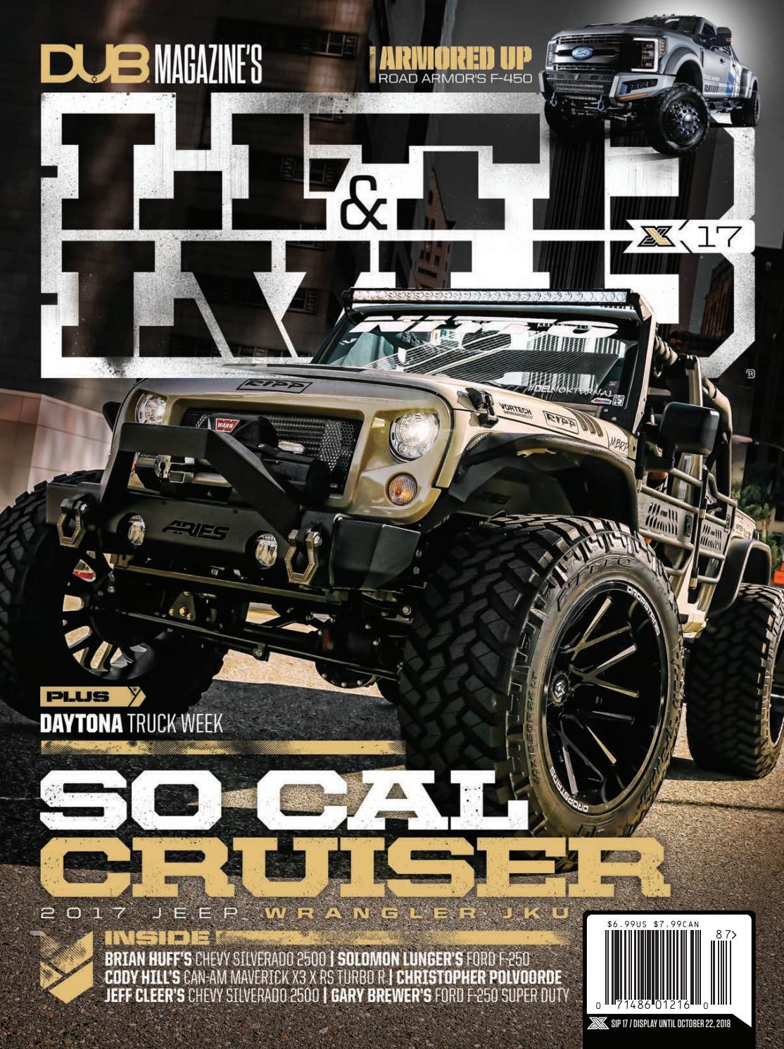 DUB Magazine's LFTD&LVLD, Issue 17 by DUB - issuu
