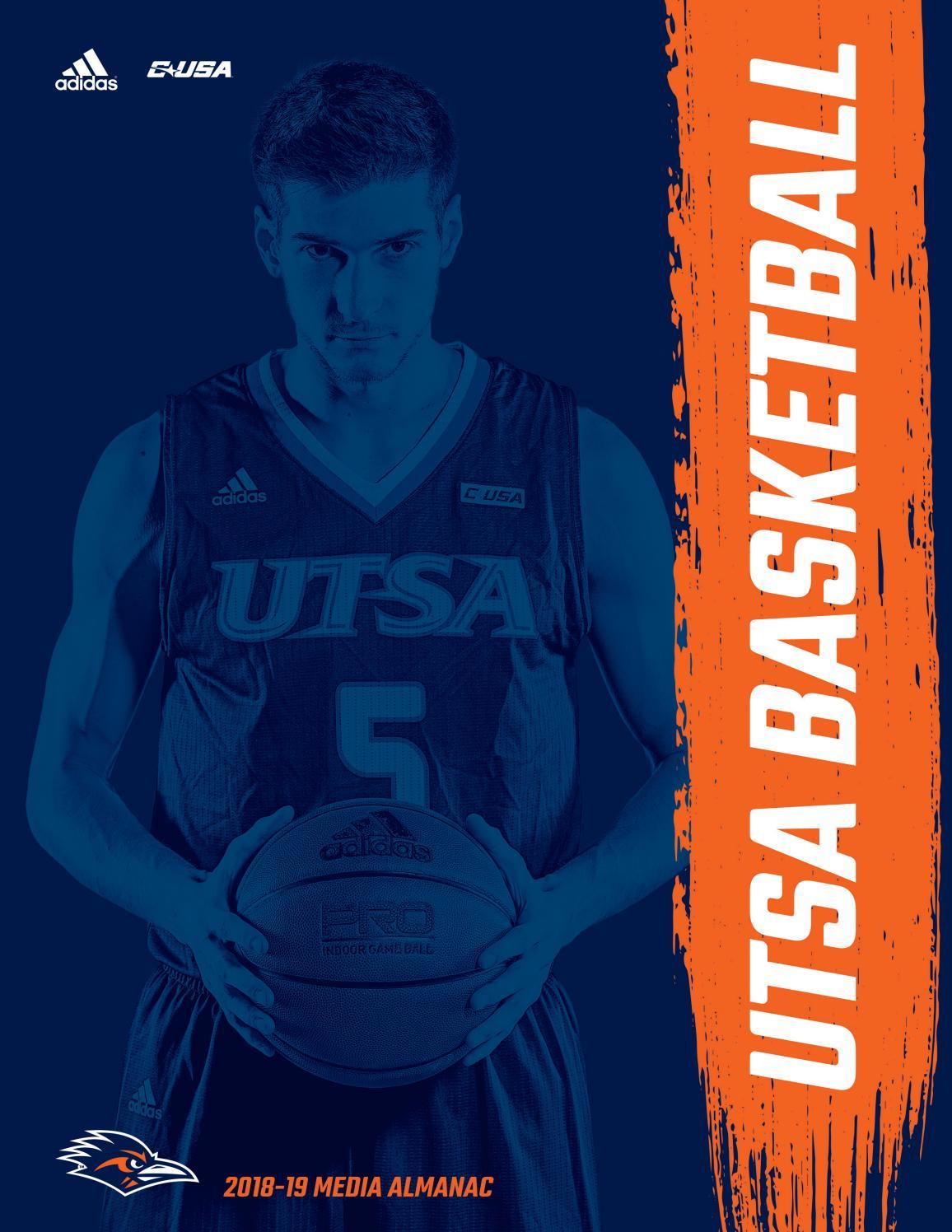 2018-19 UTSA Men s Basketball Media Almanac by UTSA Athletics  Communications - issuu 097f84b29