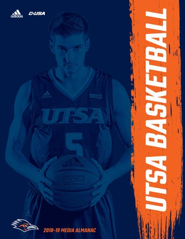 4b9bb85e5535 2018-19 UTSA Men s Basketball Media Almanac by UTSA Athletics ...