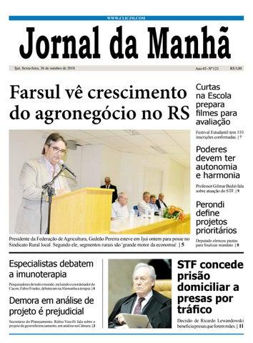 3032d67823c Jornal da Manhã - sexta-feira - 26-10-2018 by clicjm - issuu