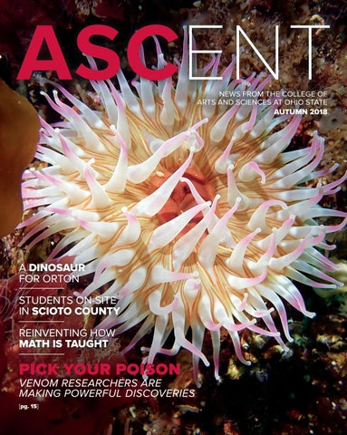 Ascent Autumn 2018 By College Of Arts And Sciences At Ohio State Issuu