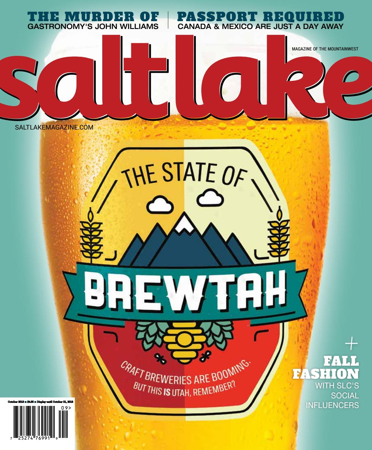 Salt Lake Magazine Sept Oct18 By Salt Lake Magazine Issuu