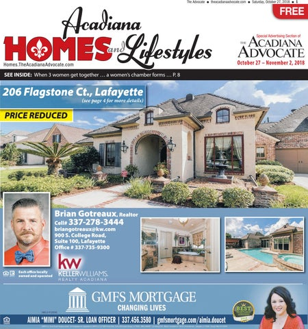 Acadiana Homes Lifestyles October 27 2018 By The Advocate Issuu