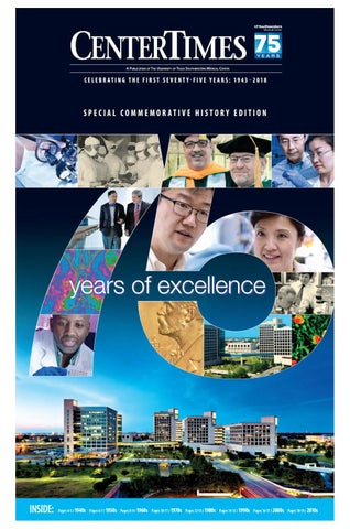 Center Times Commemorative History Edition: 75 years of excellence