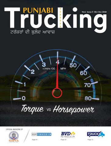 Punjabi Trucking Magazine - Nov Dec 2018 by Punjabi Trucking - issuu