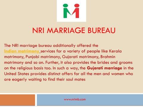 NRI Marriage Bureau Best For Matrimony Services by NRIMarriageBureau