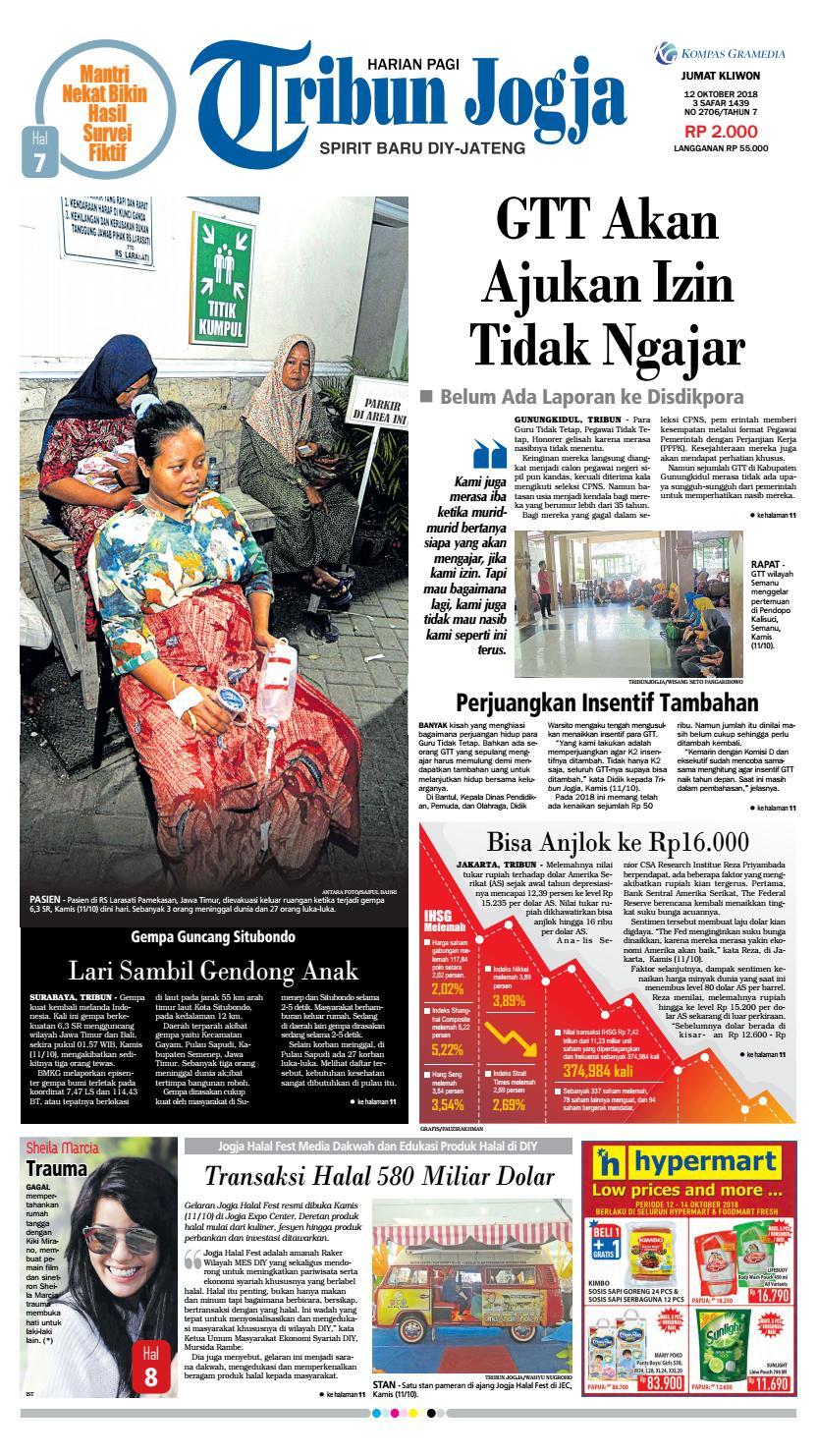 Tribun Jogja 12 10 2018 By Issuu Produk Ukm Bumn Wisata Mewah Bali 3hr 2mlm
