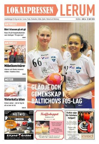 Lokalpressen Lerum nr 24 31 oktober 2018 by Lokalpressen - issuu c4d79c2fcd84e