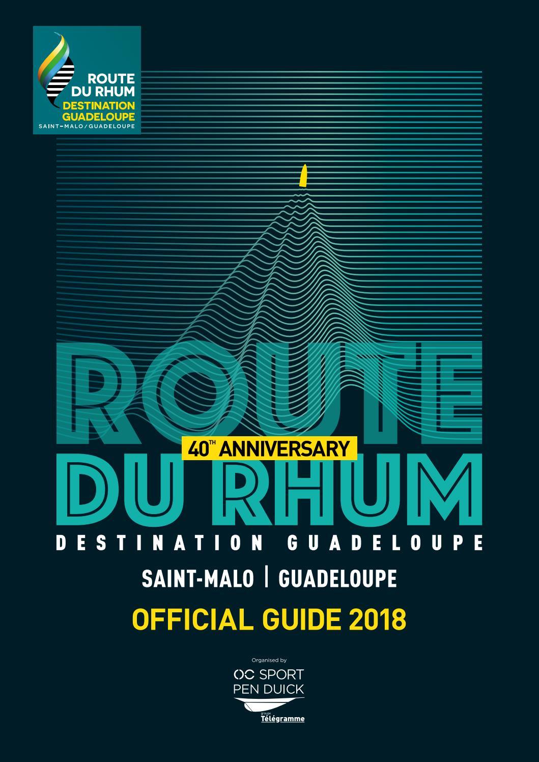 Route du Rhum-Destination Guadeloupe 2018 Guide by OC Sport
