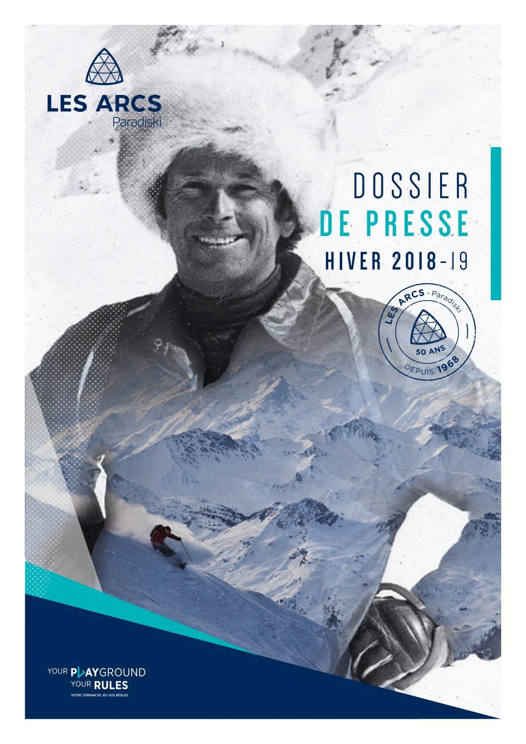 Dossier Presse Hiver 2018-2019 by Bourg Saint Maurice - Les Arcs - issuu f990809c1165