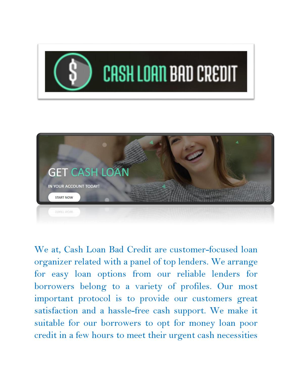 Loans For Really Bad Credit >> Payday Loans For Really Bad Credit Best Cash Help In Every