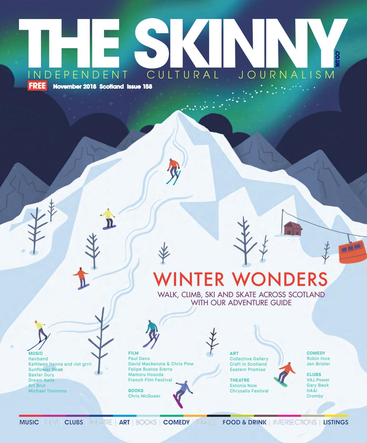 The Skinny November 2018 by The Skinny - issuu