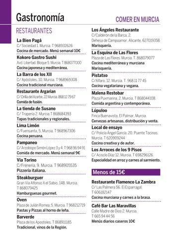 Guía Del Ocio Go Murcia Noviembre 18 By Laguiago Com Issuu