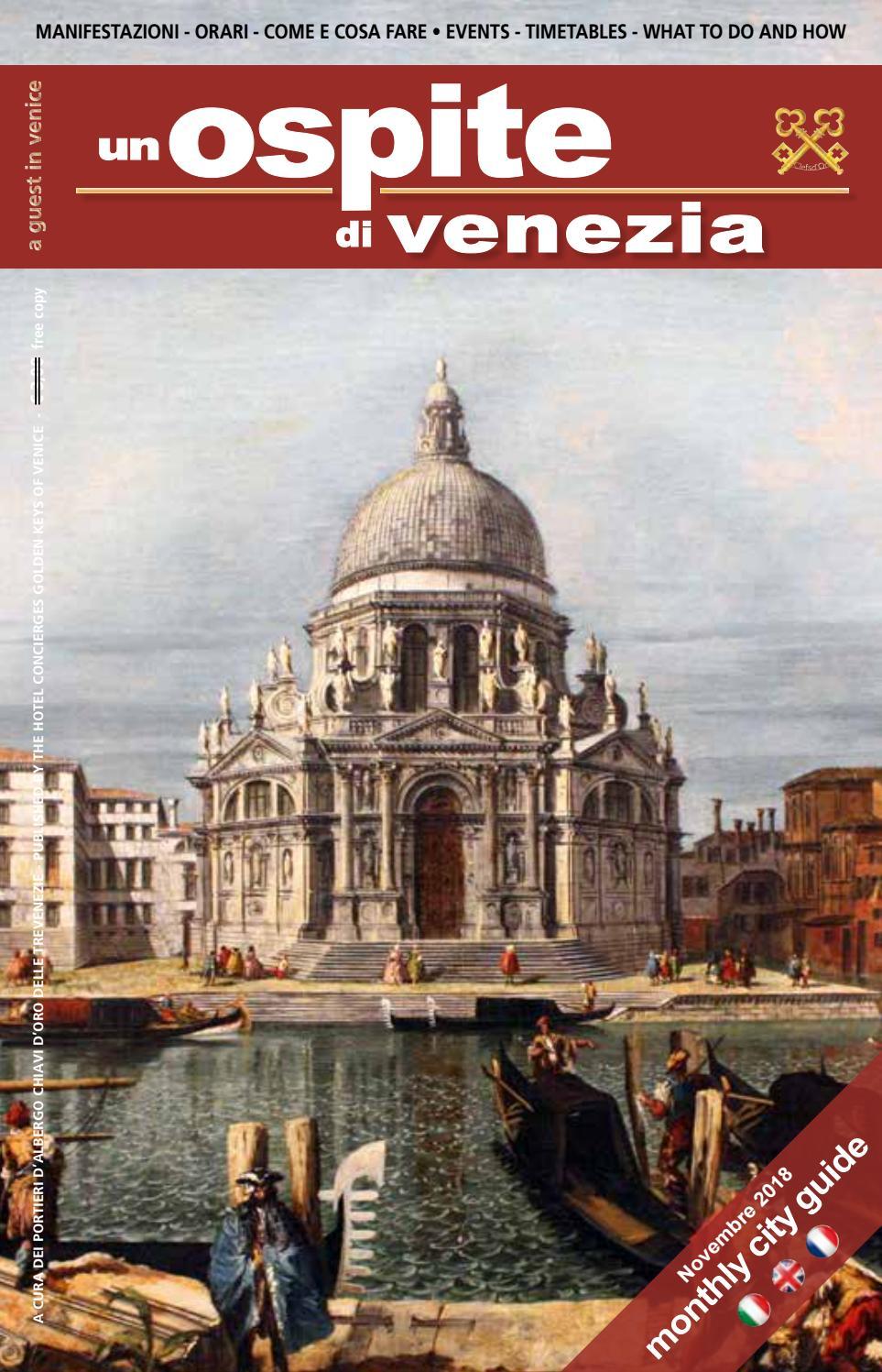 Un Ospite di Venezia - Novembre -