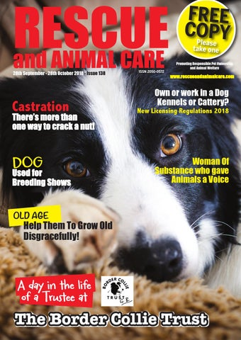 51ce1d49 Rescue And Animal Care Magazine 28th September - 28th October 2018 ...
