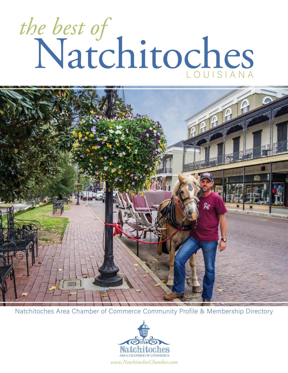 Natchitoches Area Chamber Of Commerce 2019 By Ribbit Publishing Issuu