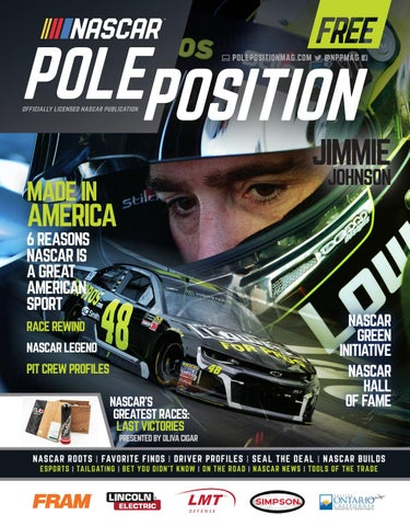 NASCAR Pole Position 2018 June/July by A E  Engine - issuu