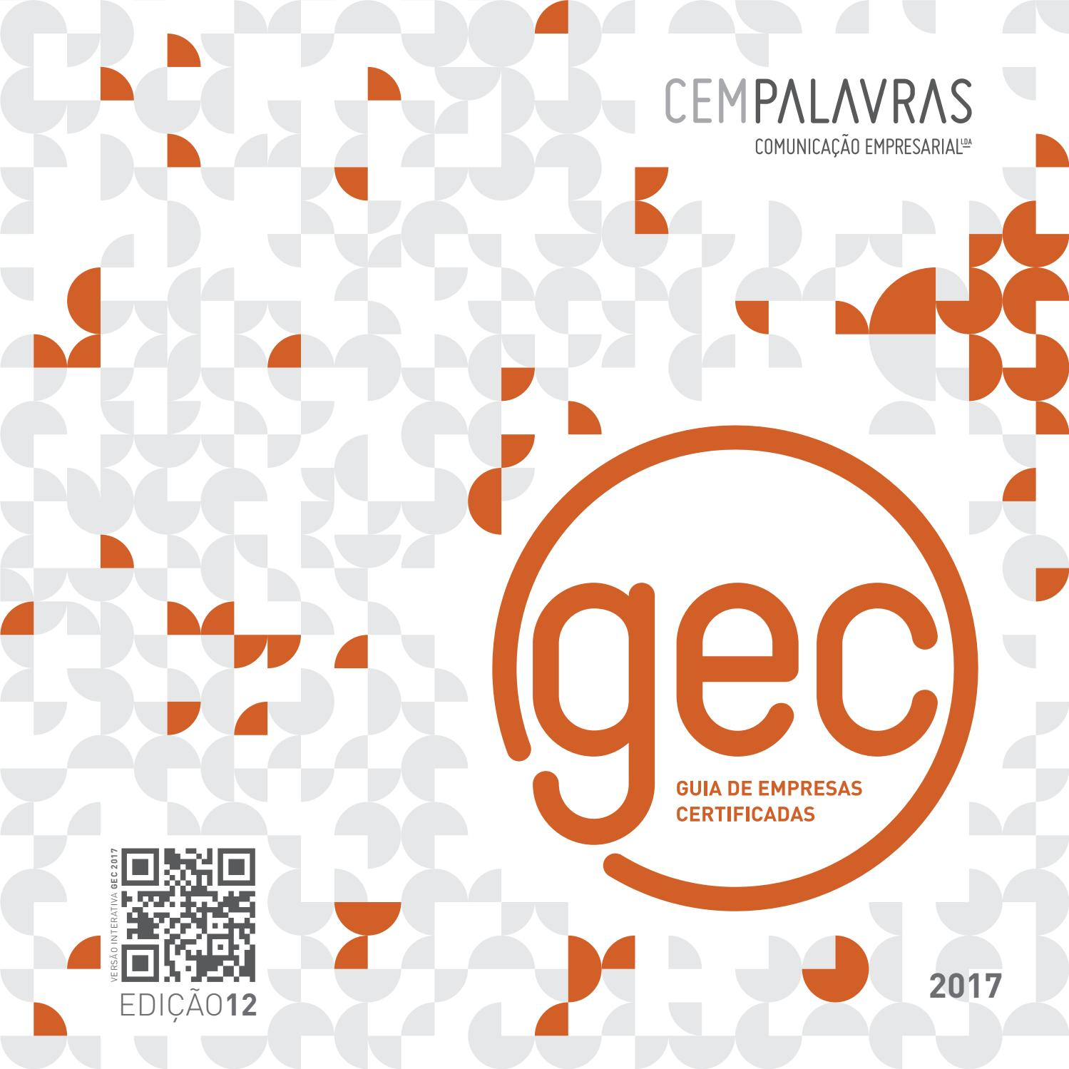 Gec 2017 En By Cempalavraspt Issuu Parcel Keramik Pja 1644