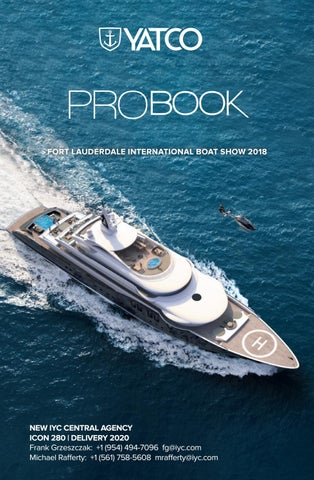Fort Lauderdale Boat Show 2020.Fort Lauderdale International Boat Show 2018 Yatco Pro Book