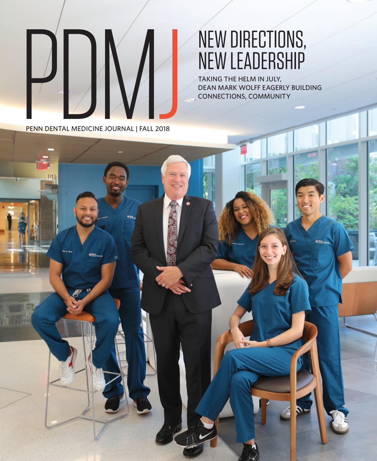 Penn Dental Medicine Journal Fall 2018 By Penn Dental Medicine Issuu
