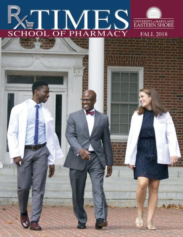 School Of Pharmacy Publication Rx Times By University Of Maryland Eastern Shore Issuu
