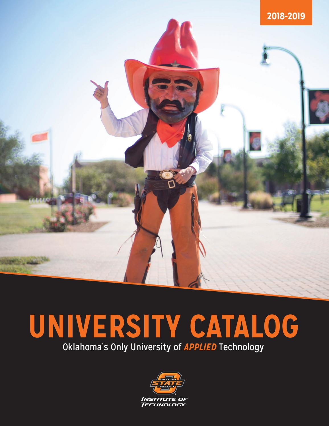 2018-2019 OSU Institute of Technology Academic Catalog by