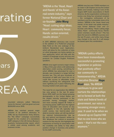 Page 33 of Celebrating 15 Years of AREAA
