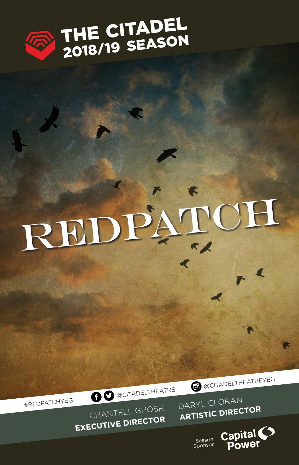 Citadel Theatre playbill - Redpatch by Suggitt Publishers - issuu
