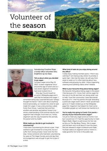 Page 30 of Volunteer of the season