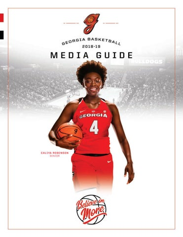 0ad536a0ae3 2018-19 Georgia Women s Basketball Media Guide by Georgia Bulldogs ...
