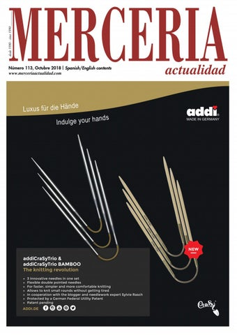 db82b2b6b4 Mercería Actualidad 113 · octubre 2018 by Prensa Técnica S.L. - issuu
