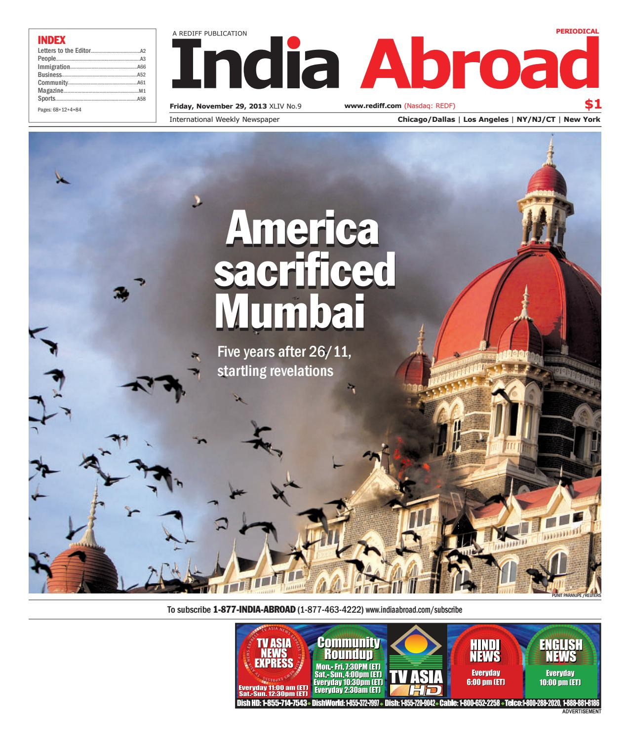 India Abroad - NGO Special by India Abroad - issuu