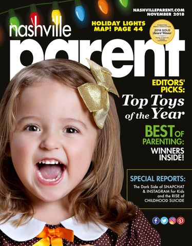 8cb3f845e04f Nashville Parent magazine November 2018 by Day Communications DayCom ...