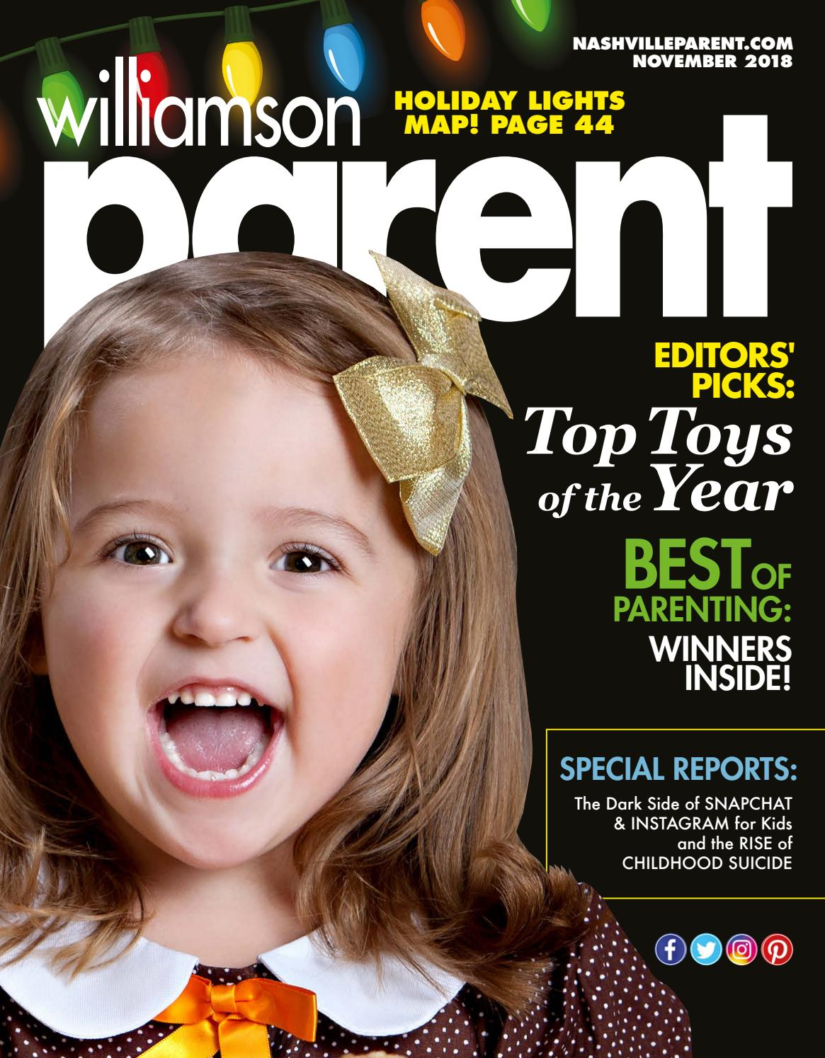 williamson parent magazine november 2018 by day communications