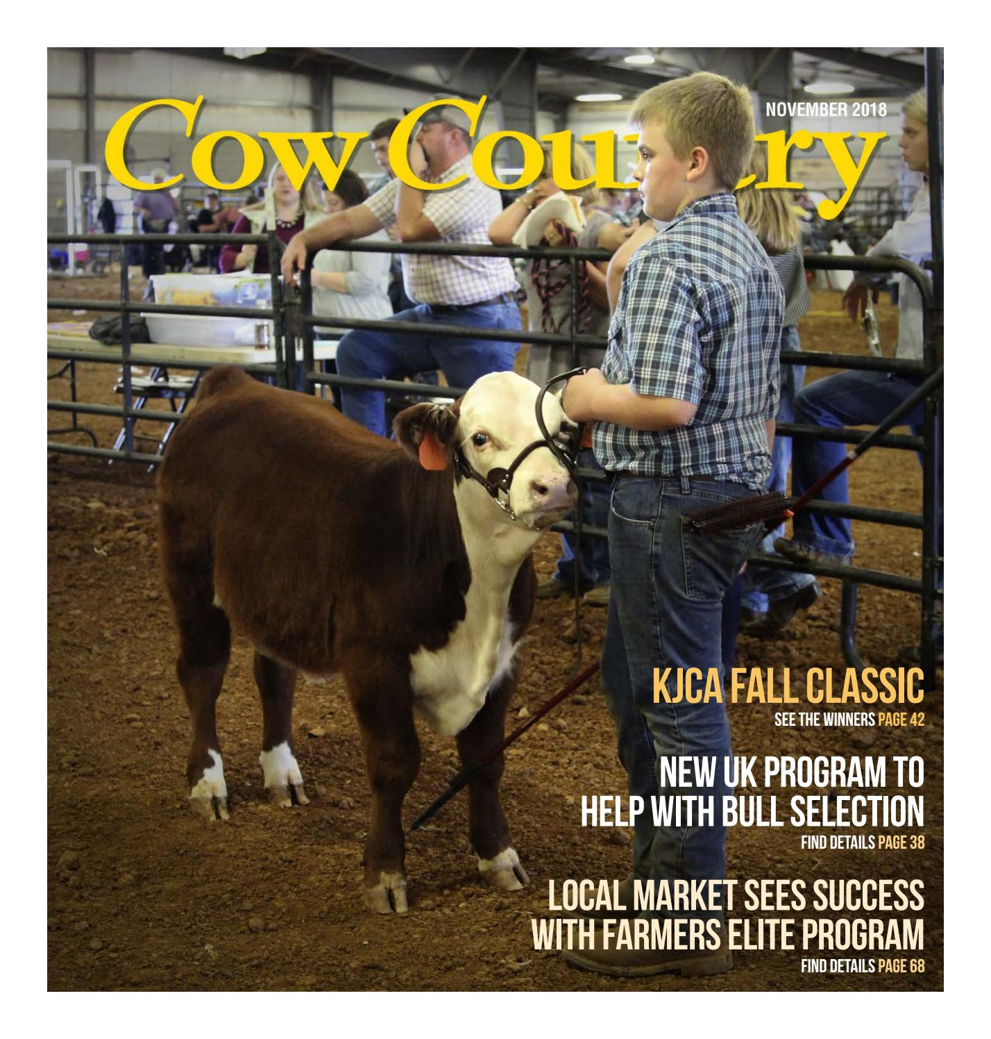 Cow Country News - November 2018 by The Kentucky Cattlemen's