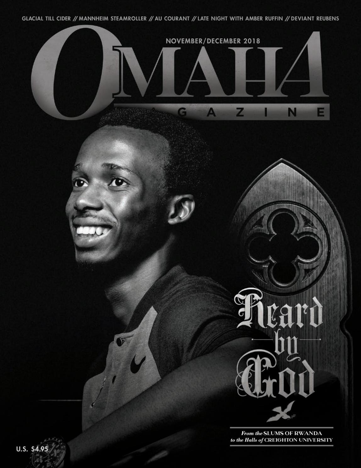 Omaha Magazine - November/December 2018 - The Rwanda Issue