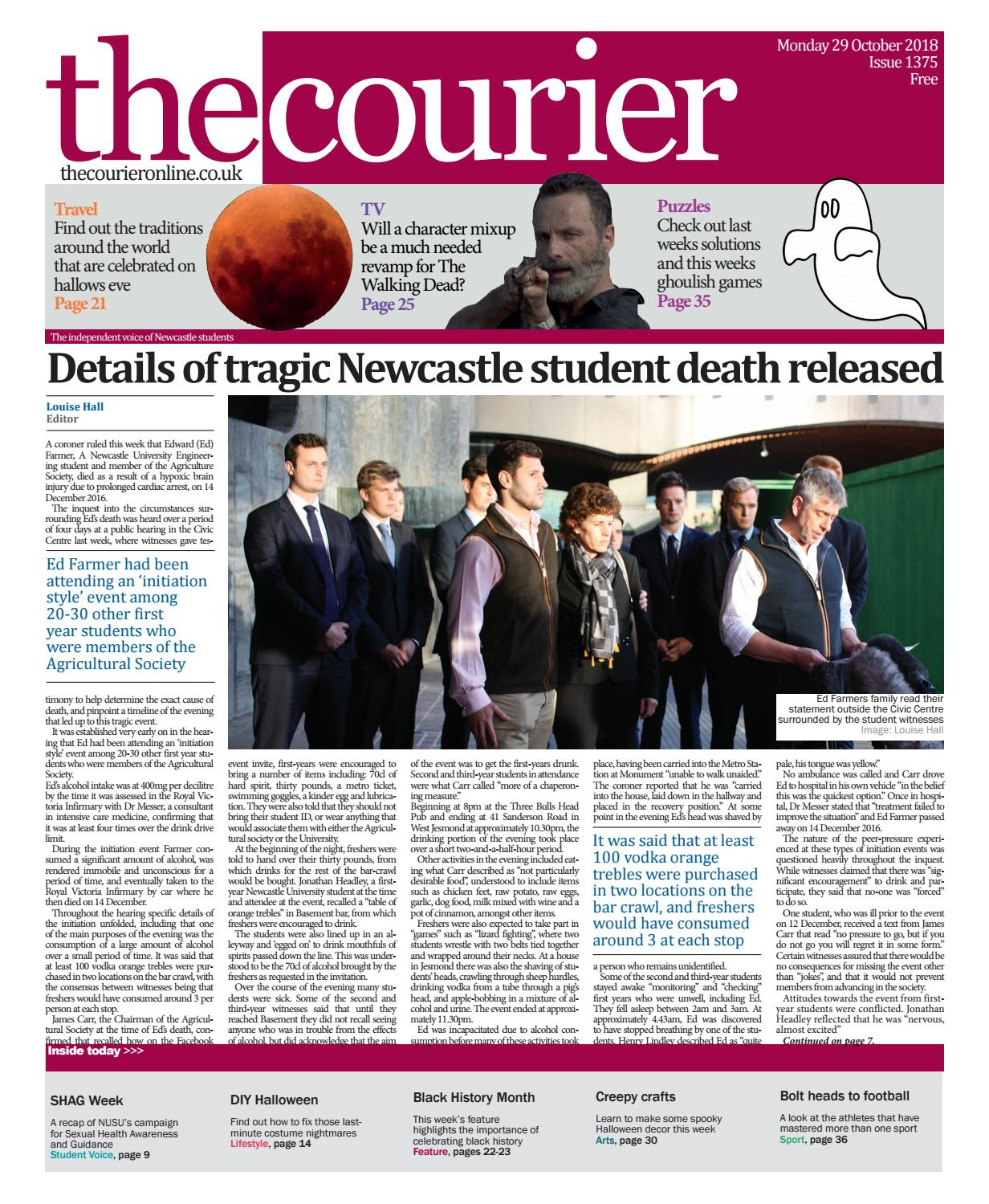 0d737b420de61 Courier 1375 by The Courier Online - issuu