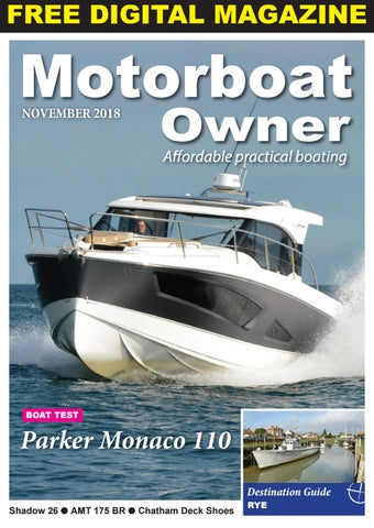 Motorboat Owner November 2018 by Digital Marine Media Ltd