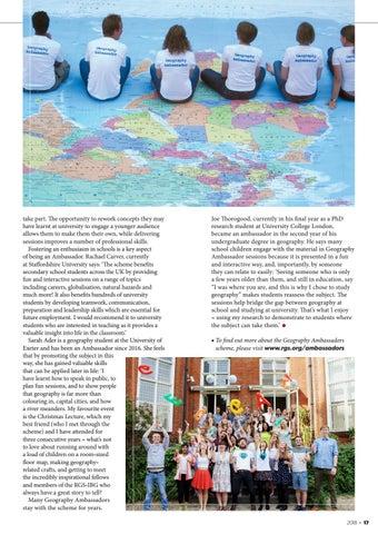 Page 17 of Geography Ambassadors